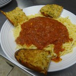 Classic Chicago Gourmet Pizza - Spaghetti Marinara